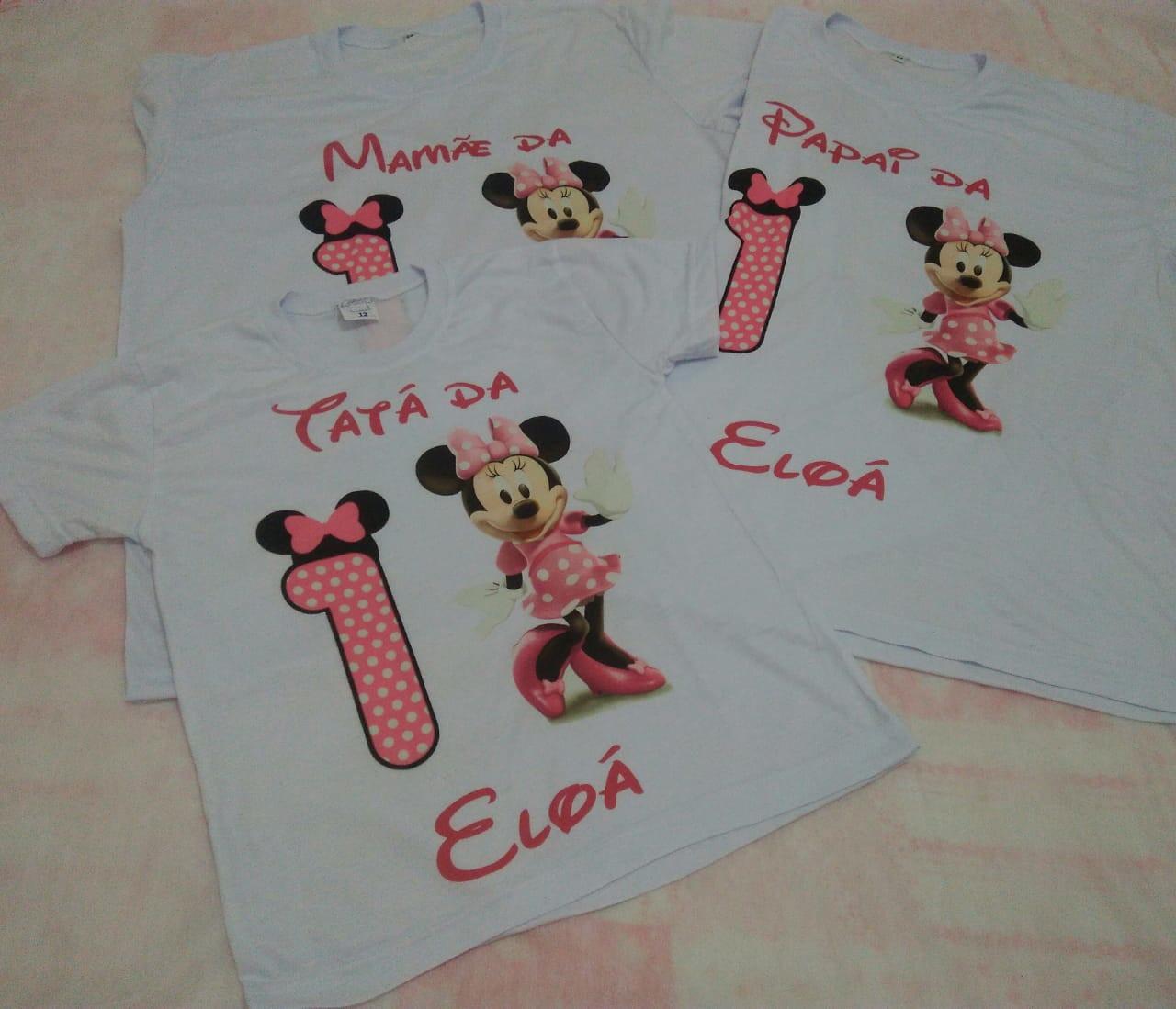 e46cb46583 Camisetas Personalizadas Festas 3 Unidades