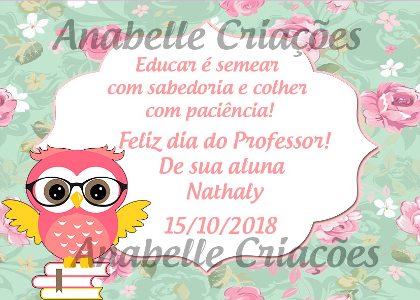 Cartao Dia Dos Professores No Elo7 Lu Design Criacoes D1bc50