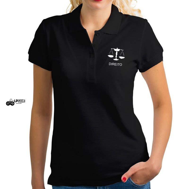 Camisa Polo universitaria Bordado (DIREITO) no Elo7  83724659569d0