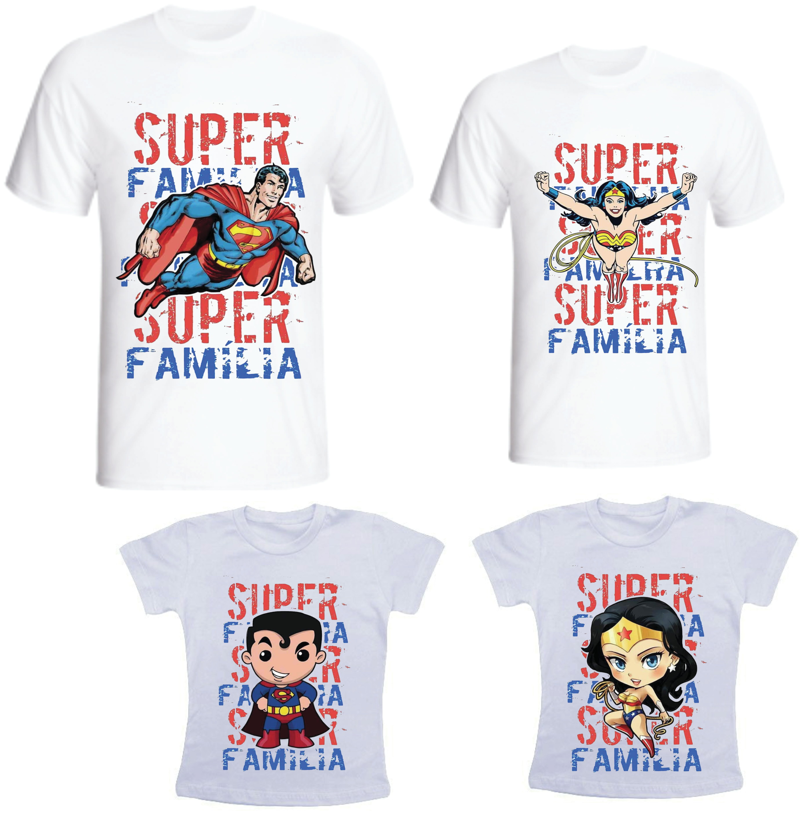 Camiseta Para Familia Elo7