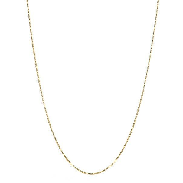 Corrente em Ouro Tricolor 18k Veneziana de 0 5mm com 60cm   Elo7 947800208d