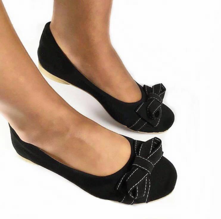 20199fc3fe Sapatilha feminina calçados sapato preta basica confortavel no Elo7 ...