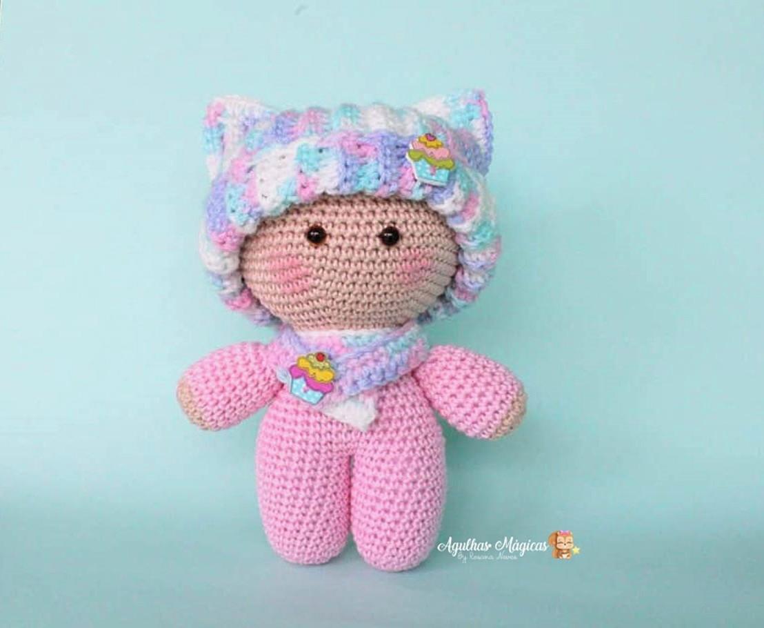 Pin de Doaa en Crochet dolls   Muñeca amigurumi, Patron muñeca ...   910x1108