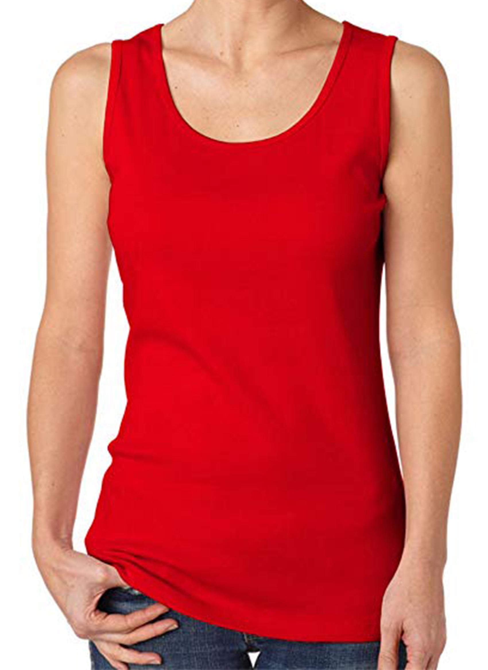 a79c6c4d5a4e3 Camiseta Regata Vermelha
