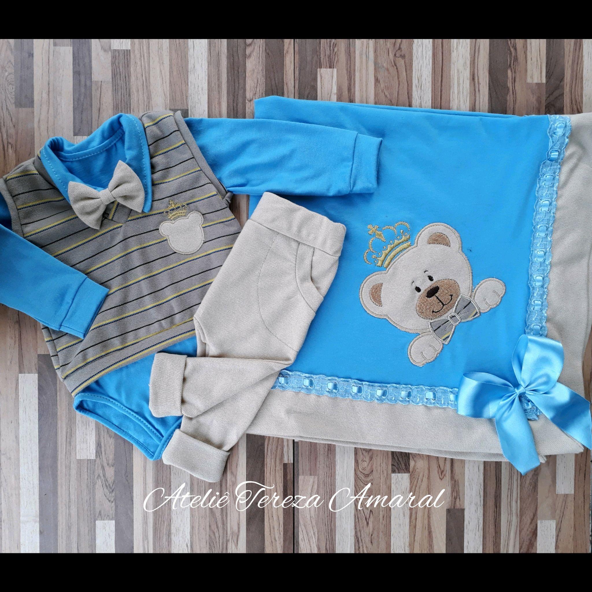 Saida Maternidade Urso Principe Azul  63bfc592d0b