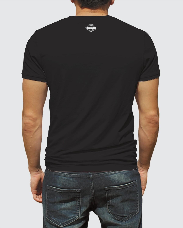 Camiseta Good Vibes Da Ilha Floripa Preta Algodão no Elo7  02ffad26a6b49