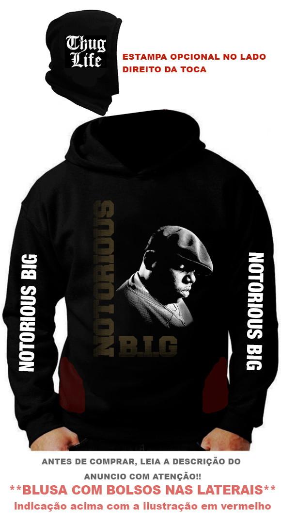 4ee7aed95 Blusa Personalizada Notorious Big