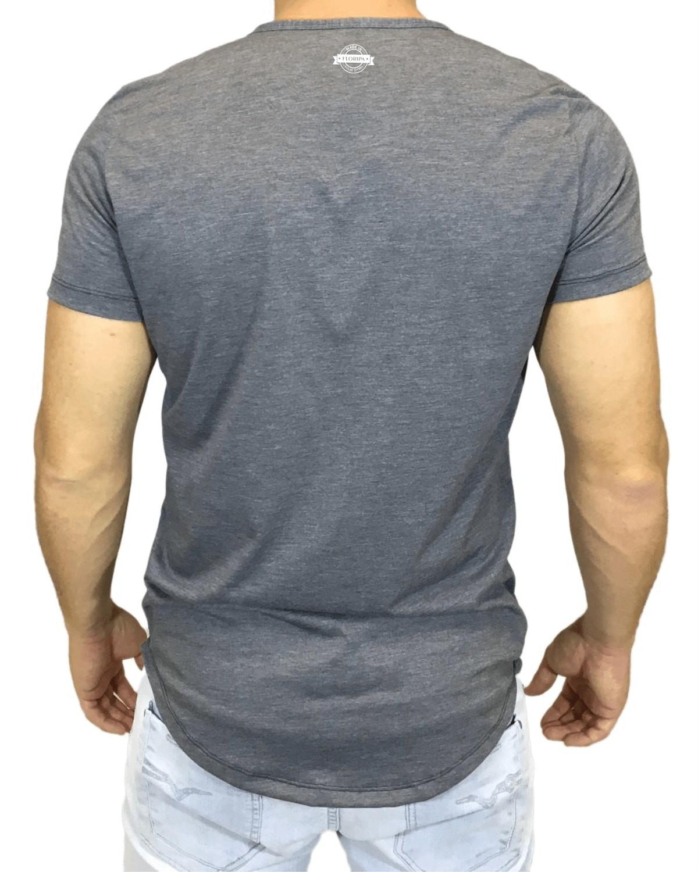 a0c7f70cf Camiseta Longline Oversized Masculina Board Roots Floripa no Elo7 ...