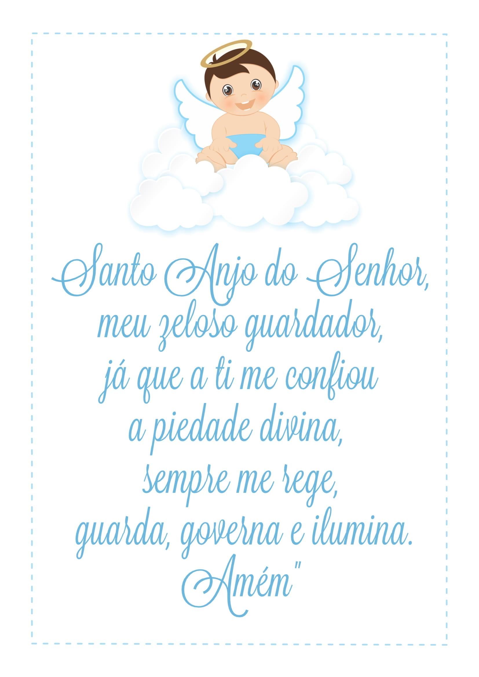 Arte Digital Para Quadros Santo Anjo Do Senhor No Elo7 Myah