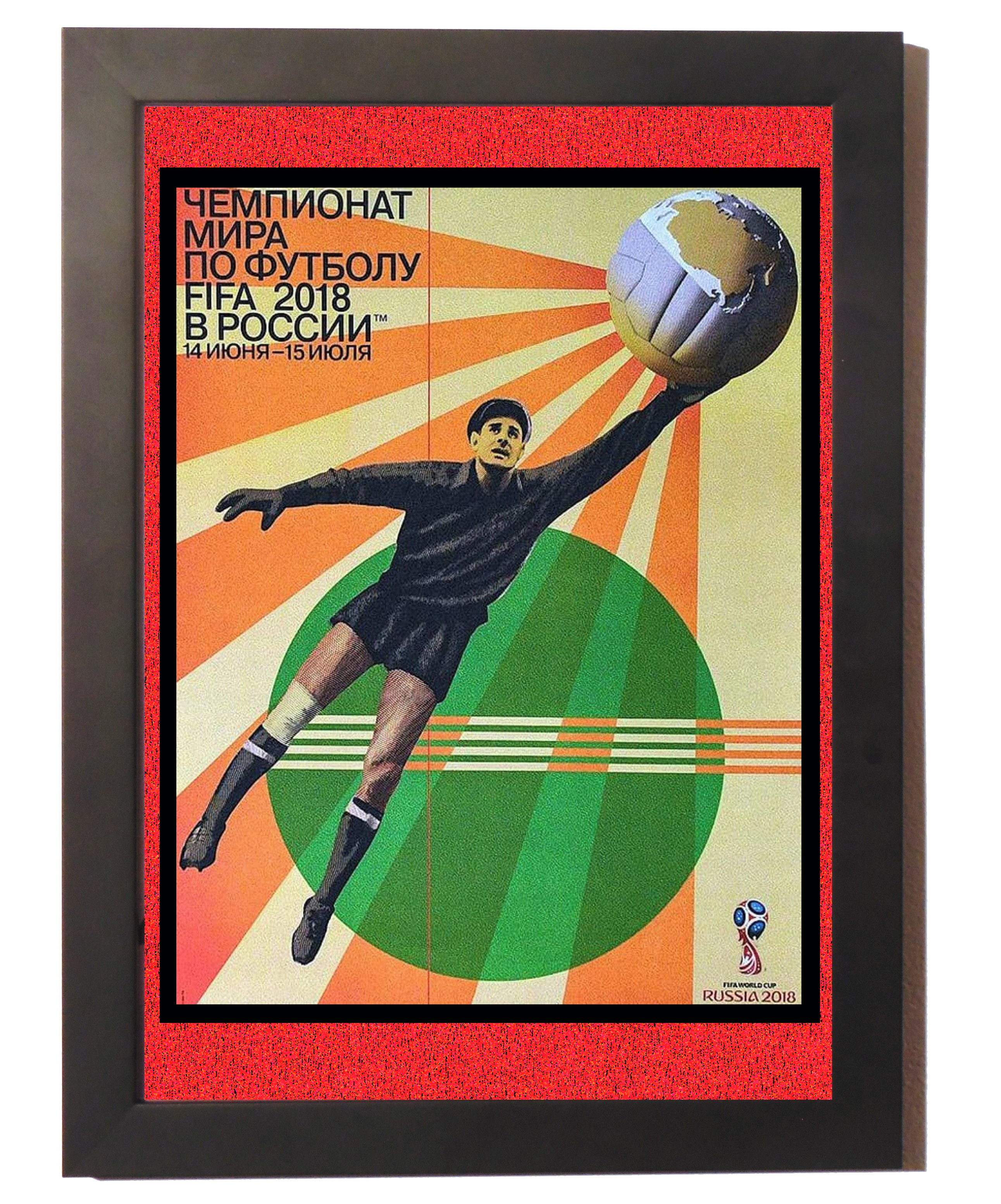 Placa Decorativa da Copa do Mundo de 2018 Russia  616822e78a1