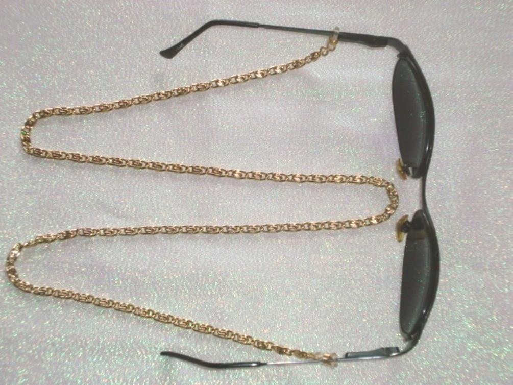 Corrente para Oculos Cor Niquel   Elo7 3bfca3f027
