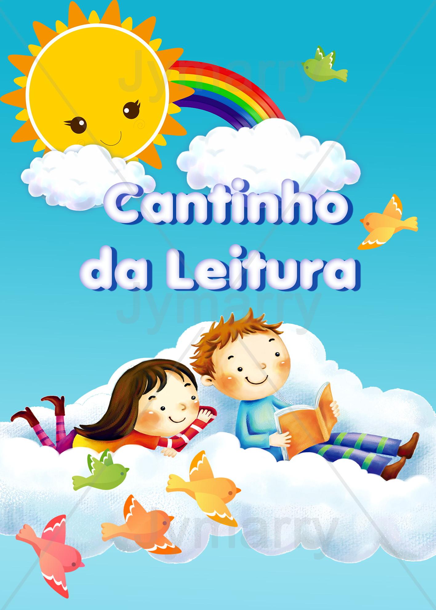 Banner Cantinho Da Leitura 50x70cm No Elo7 Jymarry Art S D3f497