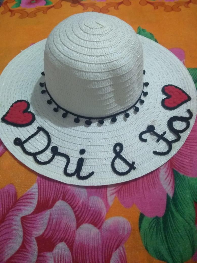 Chapéus Personalizados para casamentos fa9f7a5c610