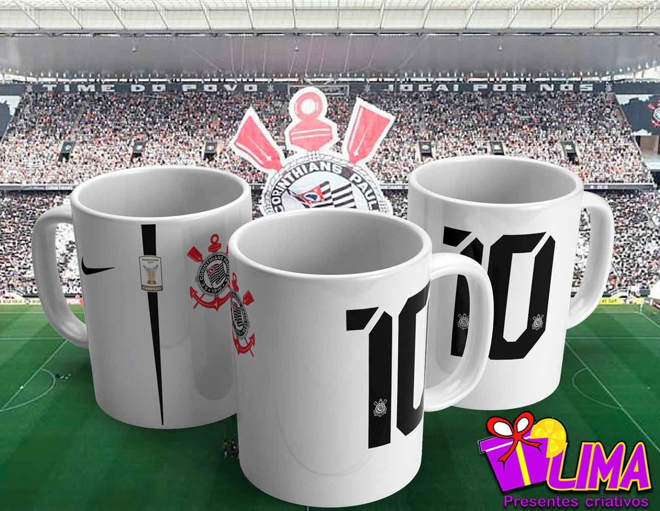 Camiseta do Corinthians e com Nome  eeae6fffd29de