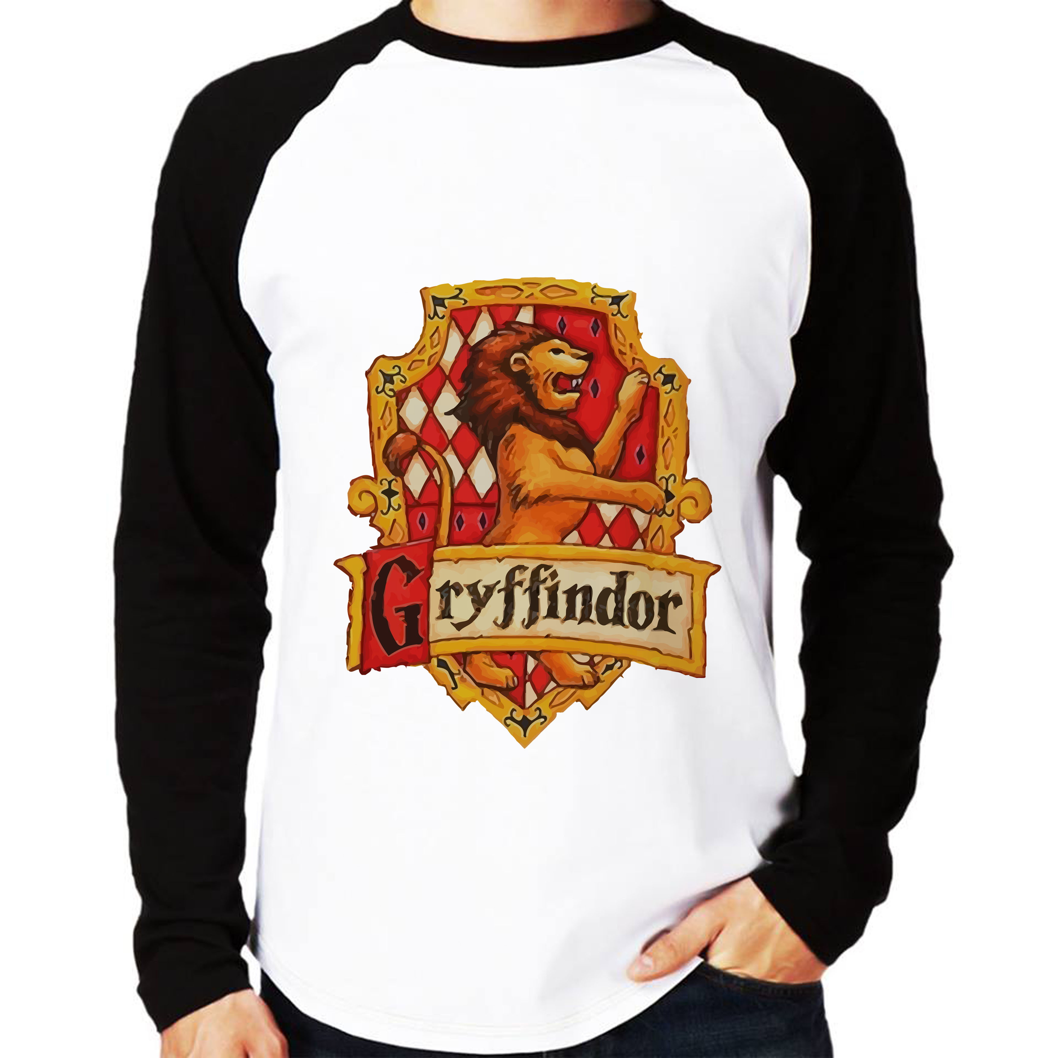 Camiseta Harry Potter Filme Camisa Manga Longa Masculina  aae2806145af5