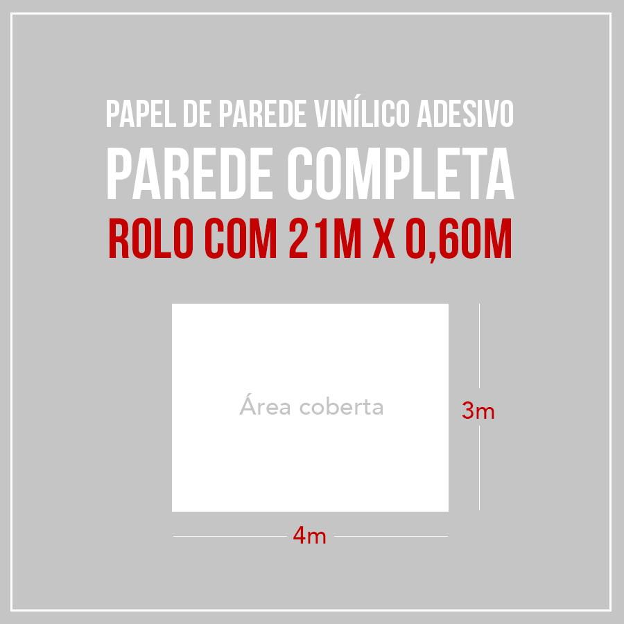 aef96451e Papel de Parede Adesivo Moderno 573953131 3m