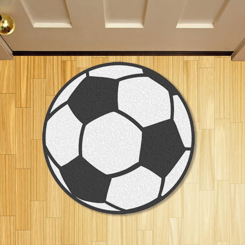 Tapete Capacho Personalizado Criativo Bola de Futebol  70039b076d7a9