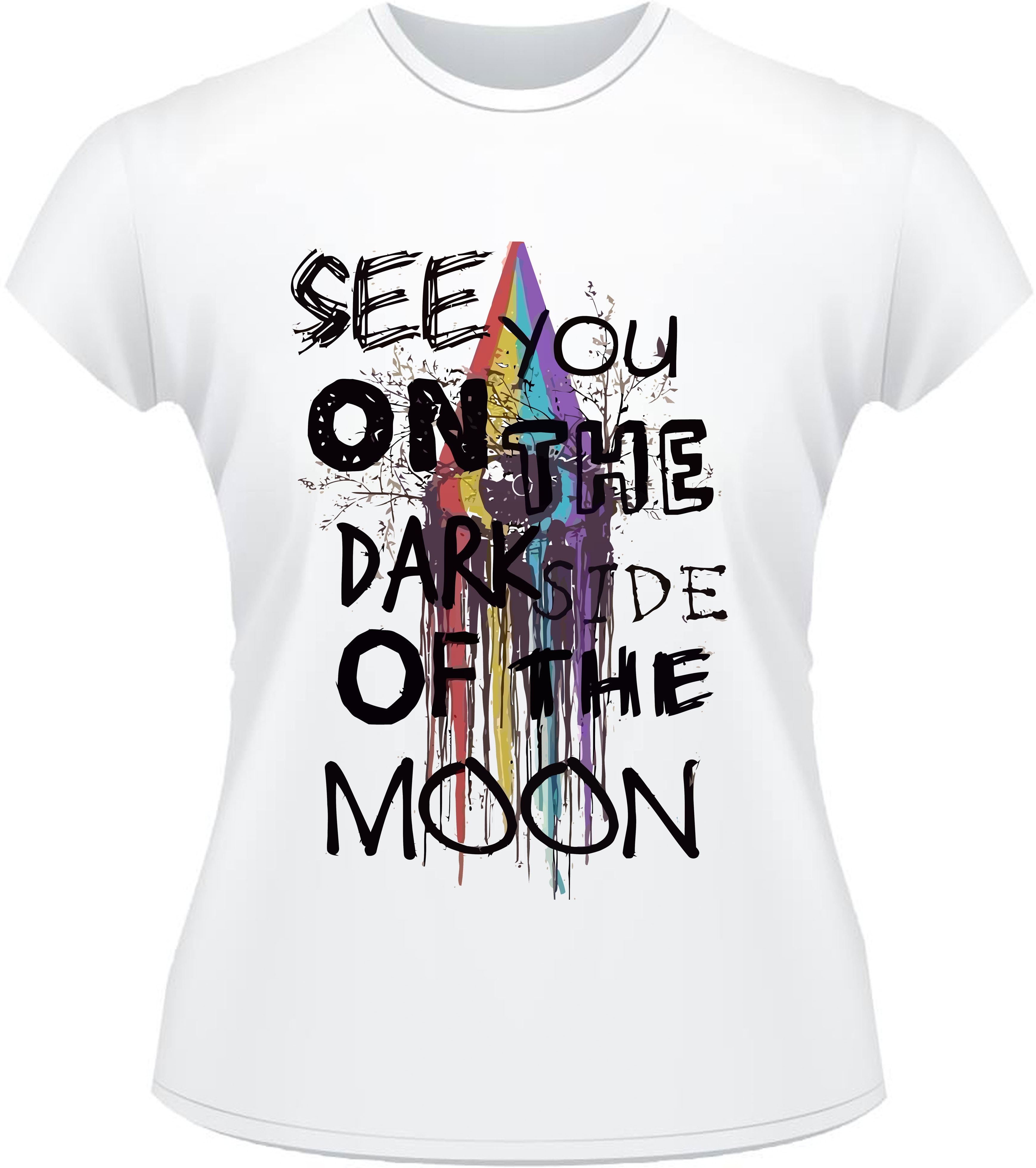 76b6d12dcc Camiseta Banda Pink Floyd Dark Side Of The Moon | Elo7