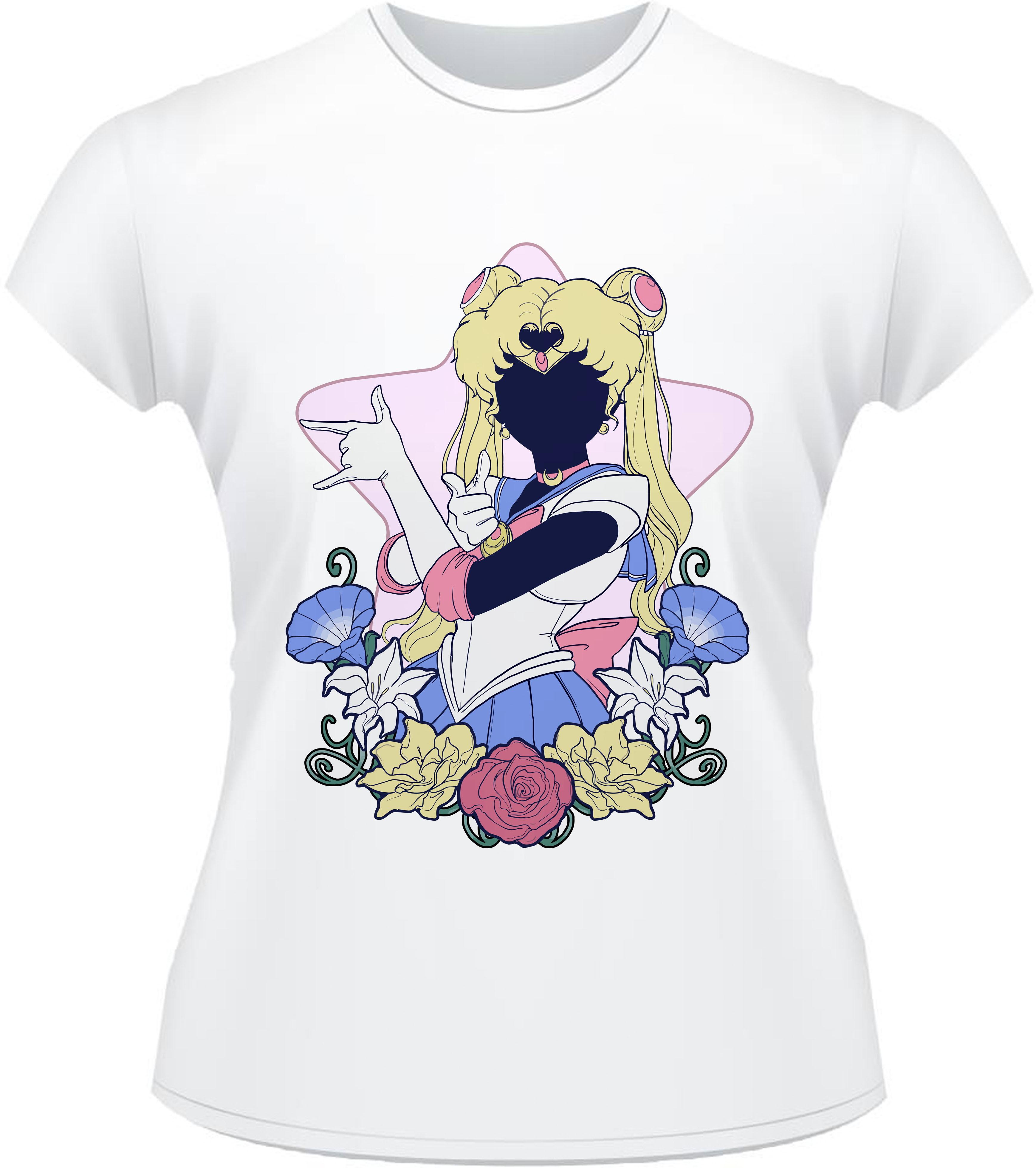 Camiseta Venus Sailor Sailor Moon  958643c46ab
