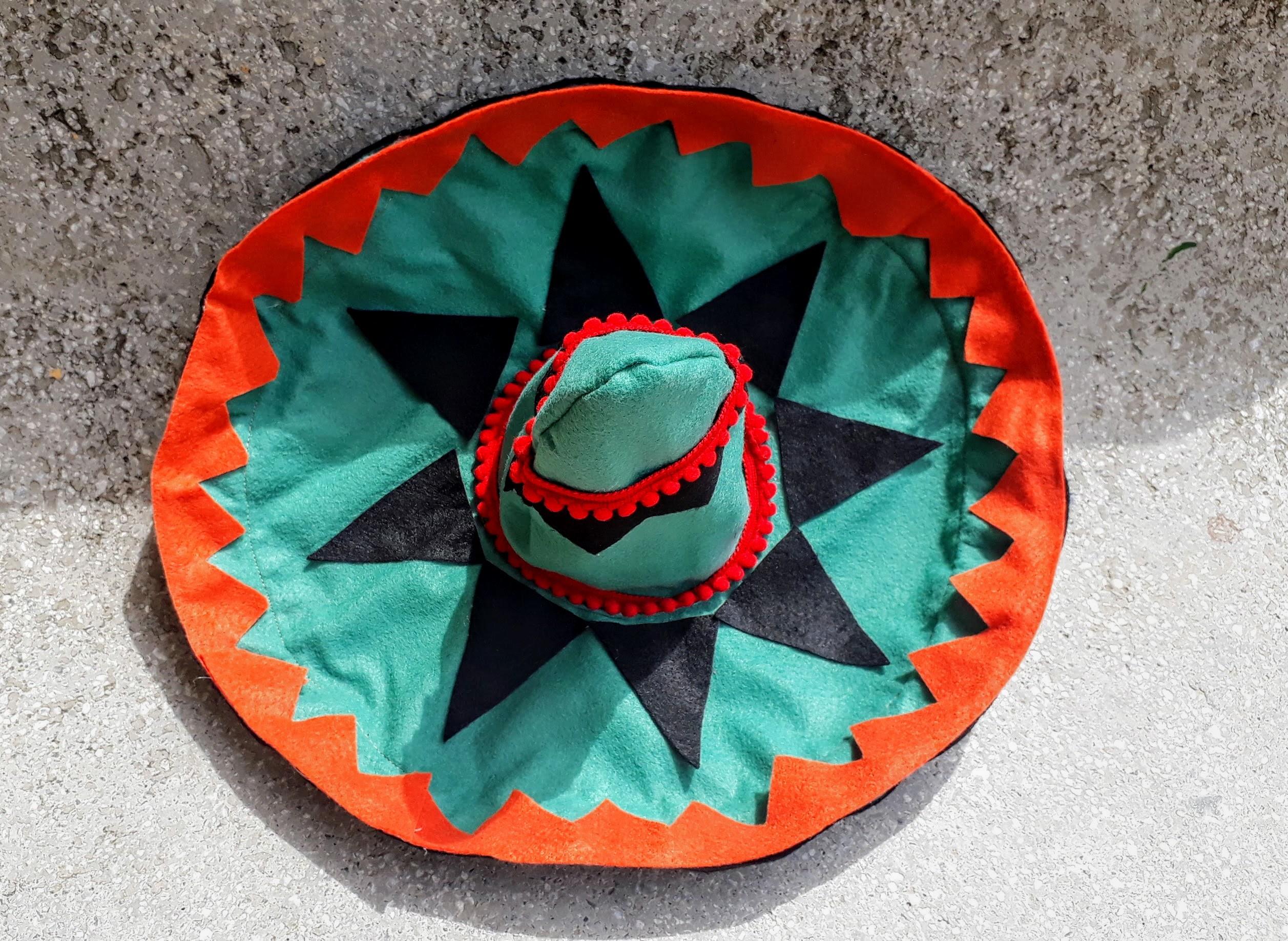 Chapéu mexicano em feltro centro de mesa no Elo7  b31527892ca