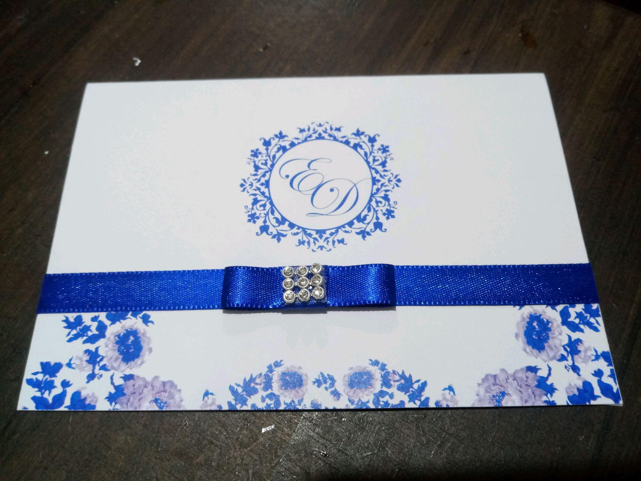 f46b13631ce87 Casamento Azul Royal   Elo7