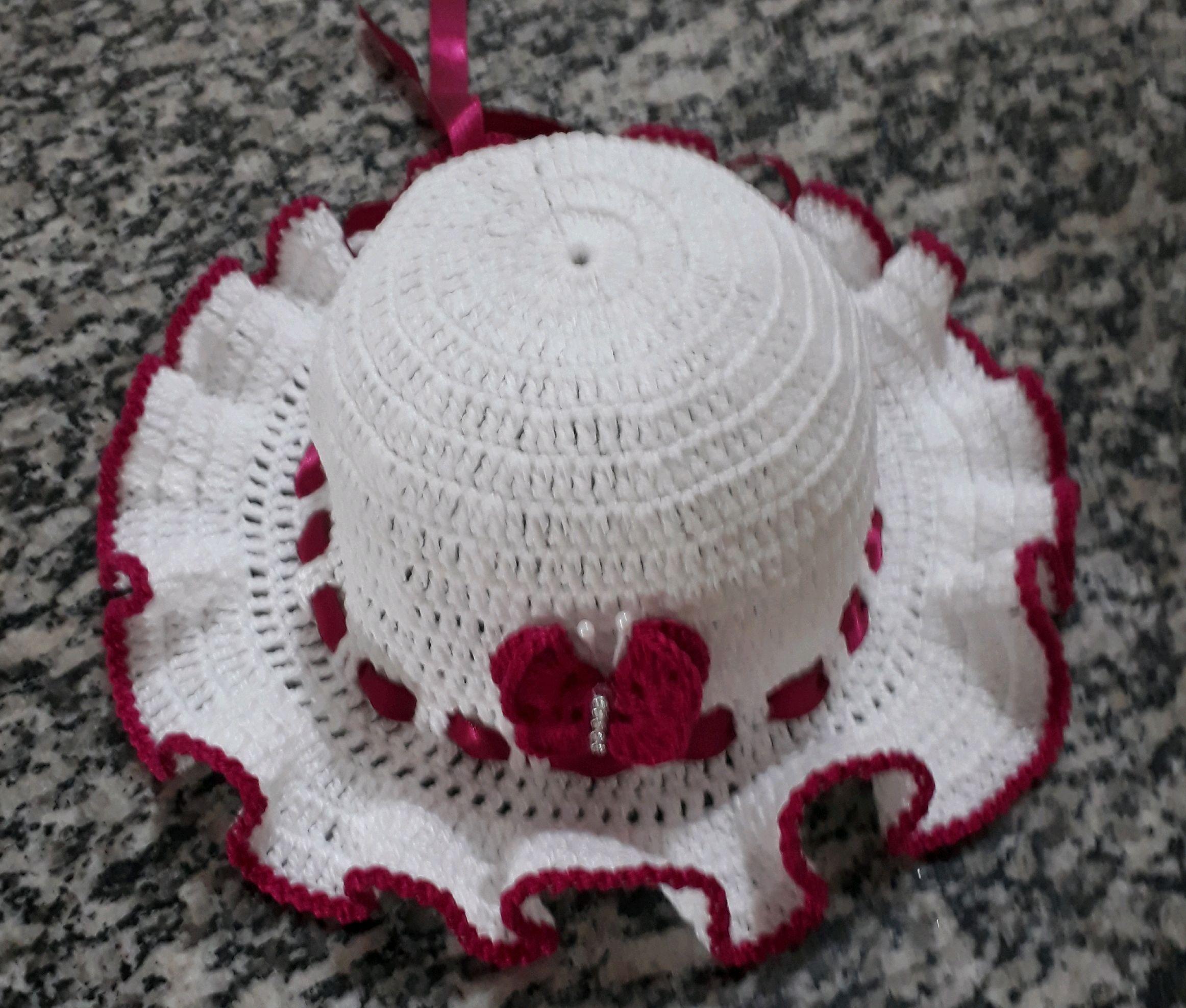 Chapéu de Crochê  c263699e3fc