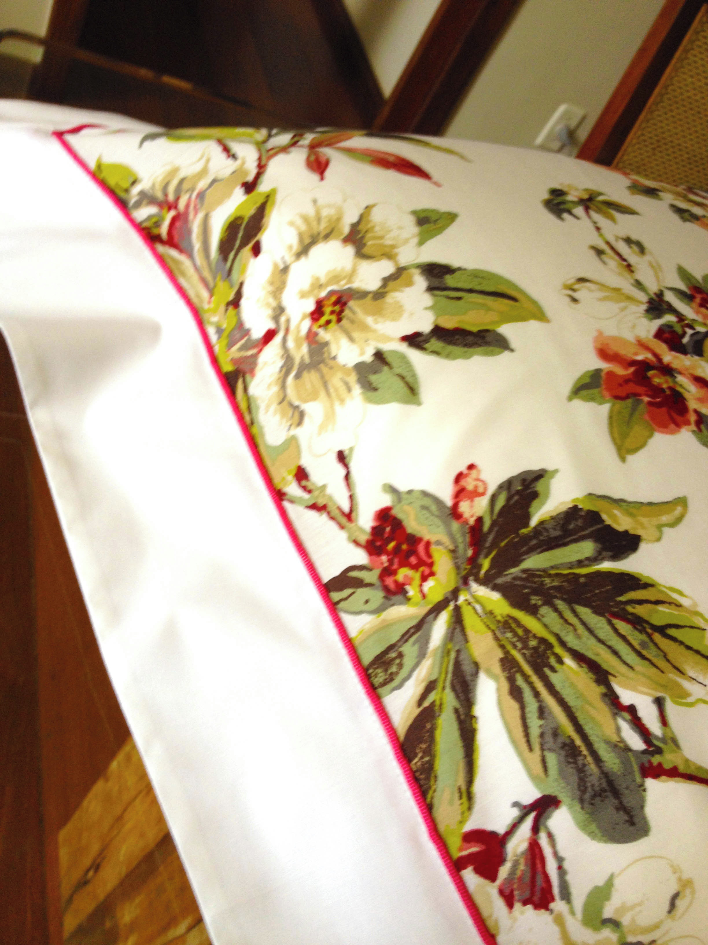 993ccaa5af Jogo de Cama Casal Floral Luxo no Elo7