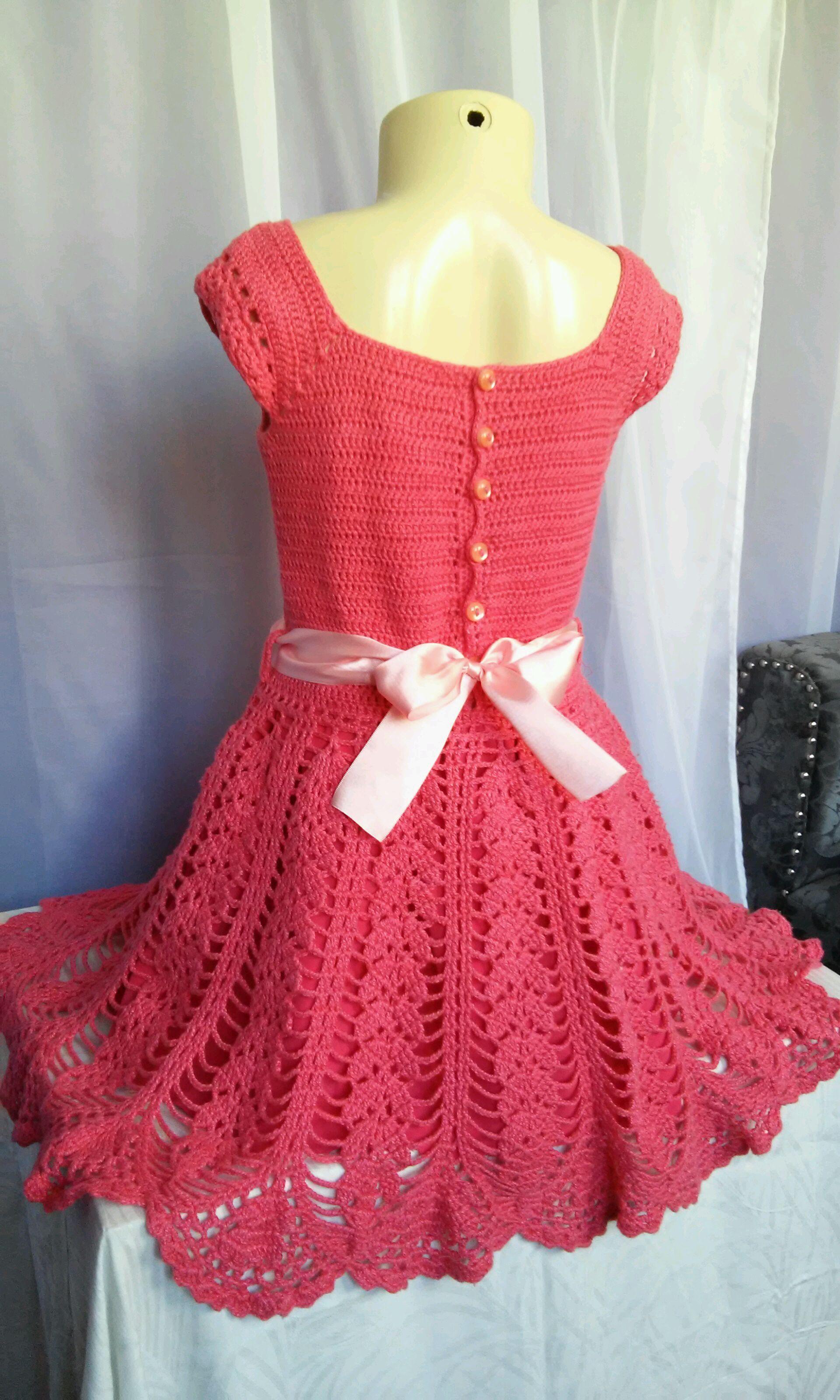 bc50d98f17fc vestido em crochê 3 a 4 anos no Elo7 | Ateliê Artes e Mimos'B (D5CA68)
