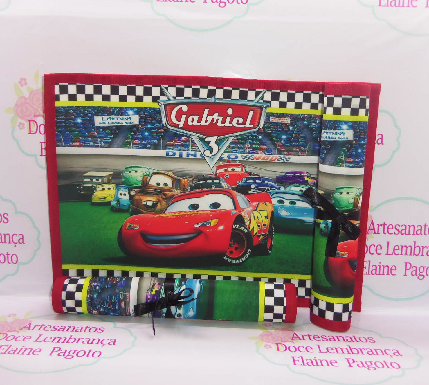 962e16b5f6 Jogo Americano G Carros Disney