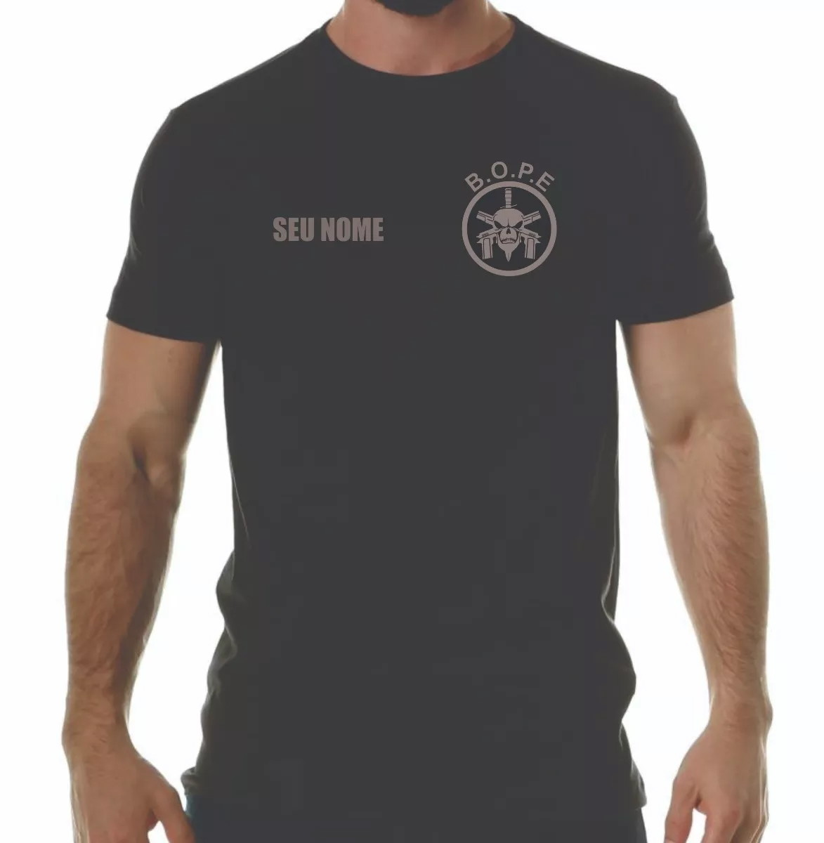 b8e3ec49ea Camiseta do Bope