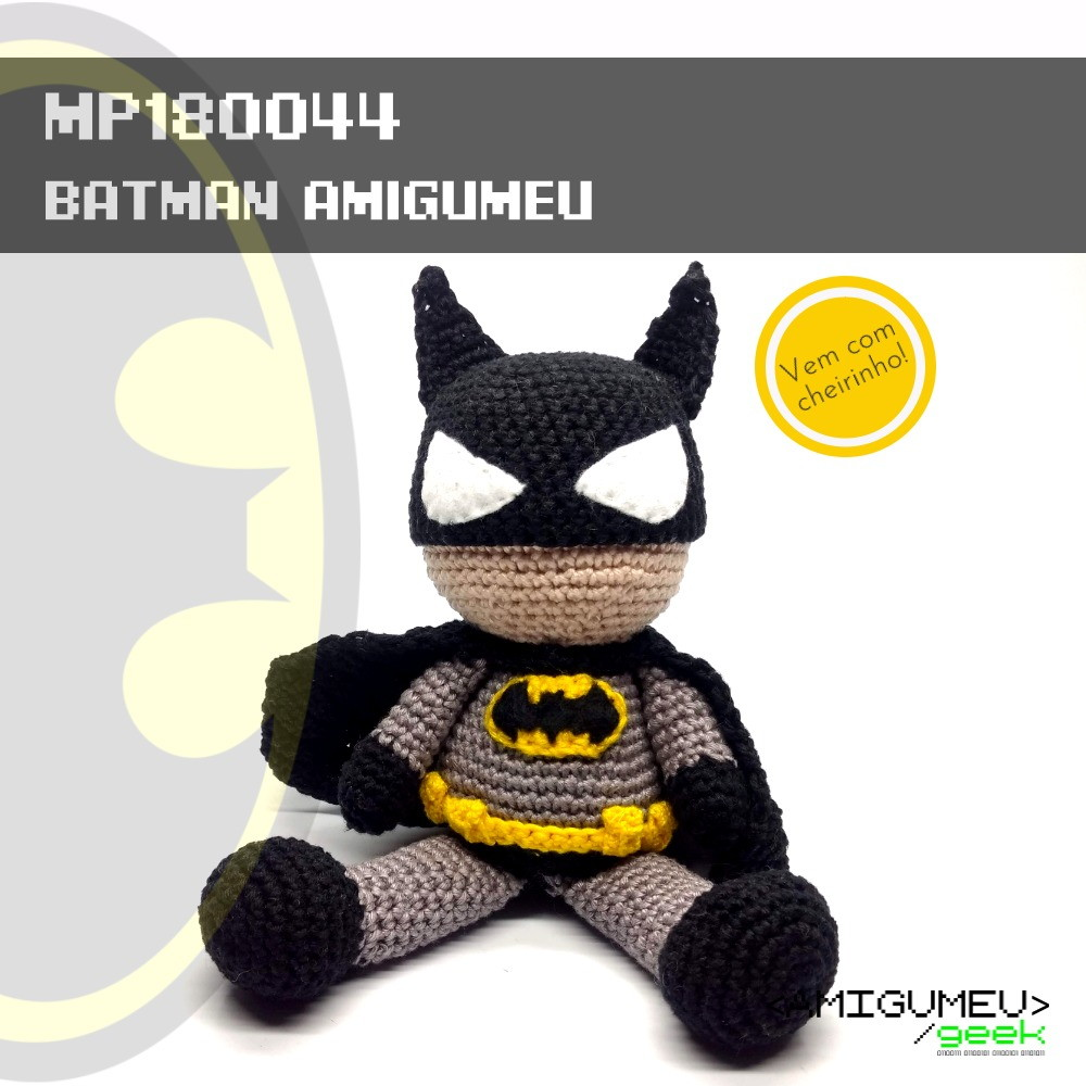 Free Batman Amigurumi Pattern (Crochet) - Daisy and Storm | 1000x1000