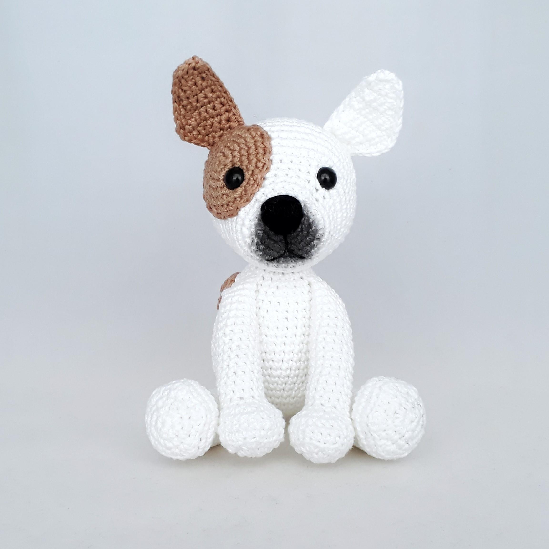 Crochet Bulldog - Pattern, PDF in English, Amigurumi Bulldog ... | 2304x2304