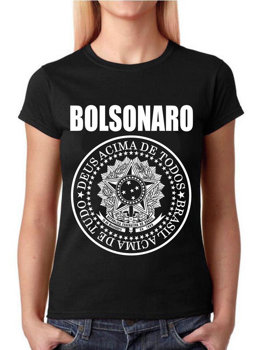5e6da6b248 Camisa Bolsonaro Brasil Acima de Tudo Deus Acima de Todos