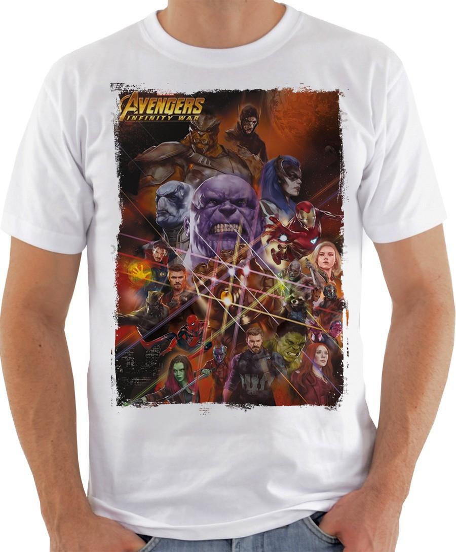 e0a05ad8fe Camiseta Camisa Thanos Luva Manopla Art Vingadores Guerra