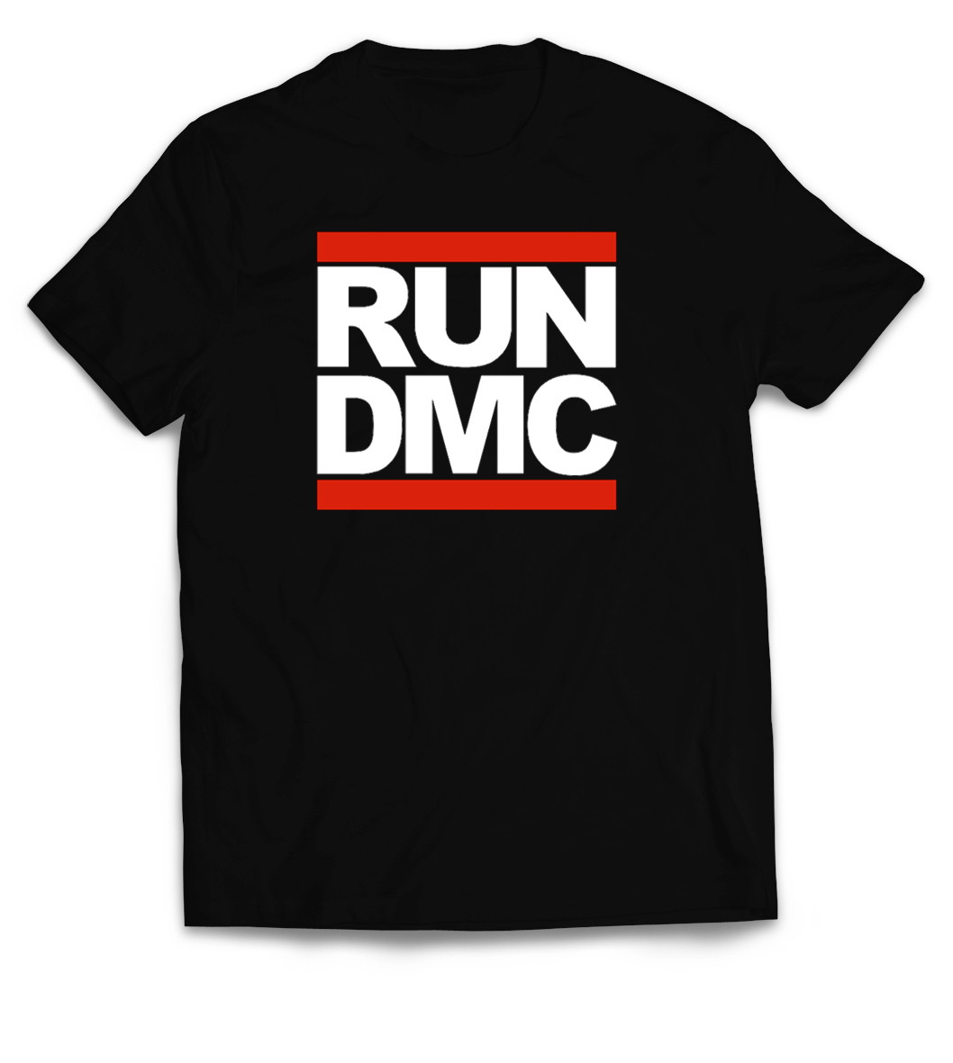 10f83b99b0e6d Camiseta Run DMC logo. camiseta de rap
