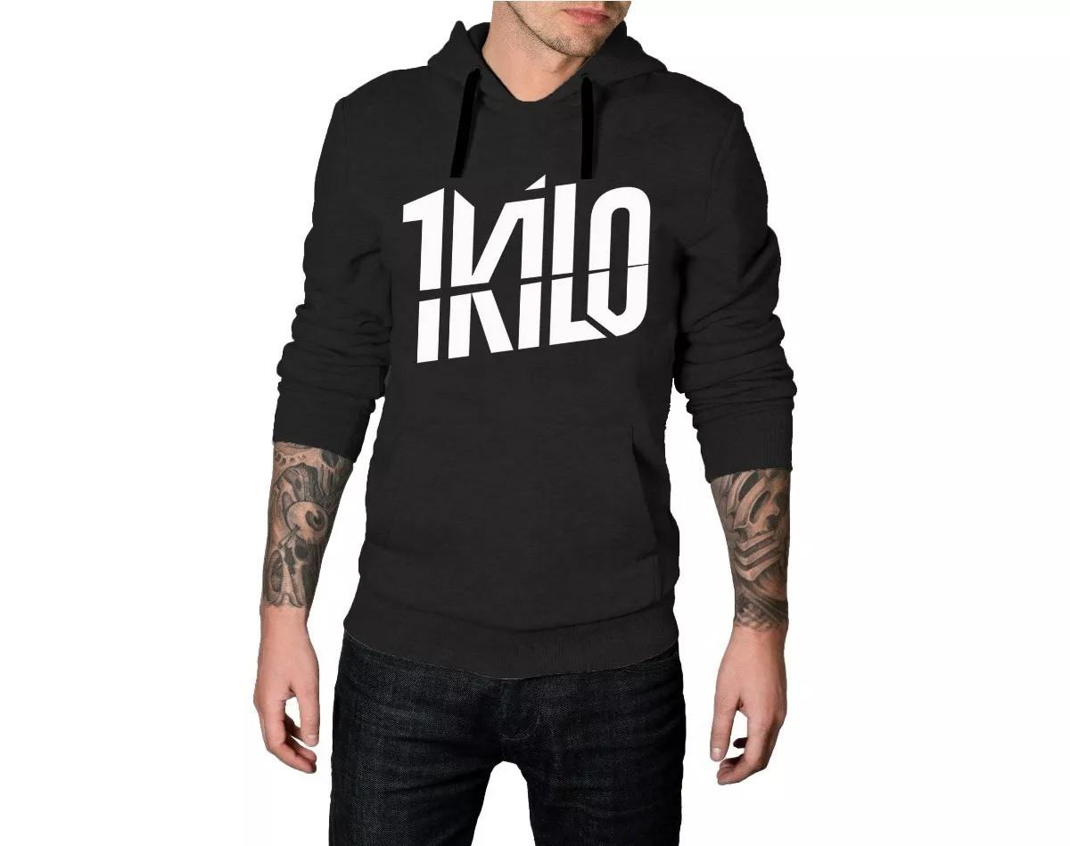 Moletom 1 Kilo Blusa de Frio Masculino  2ba1796c021f6