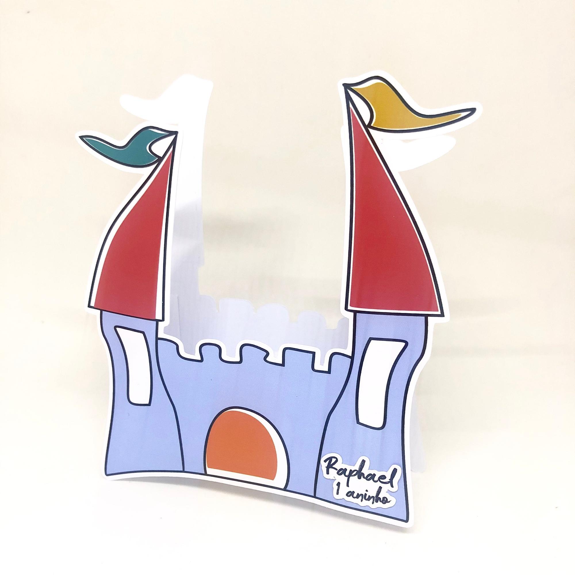 Caixa Castelo Musica Aquarela No Elo7 Maricota Papelaria