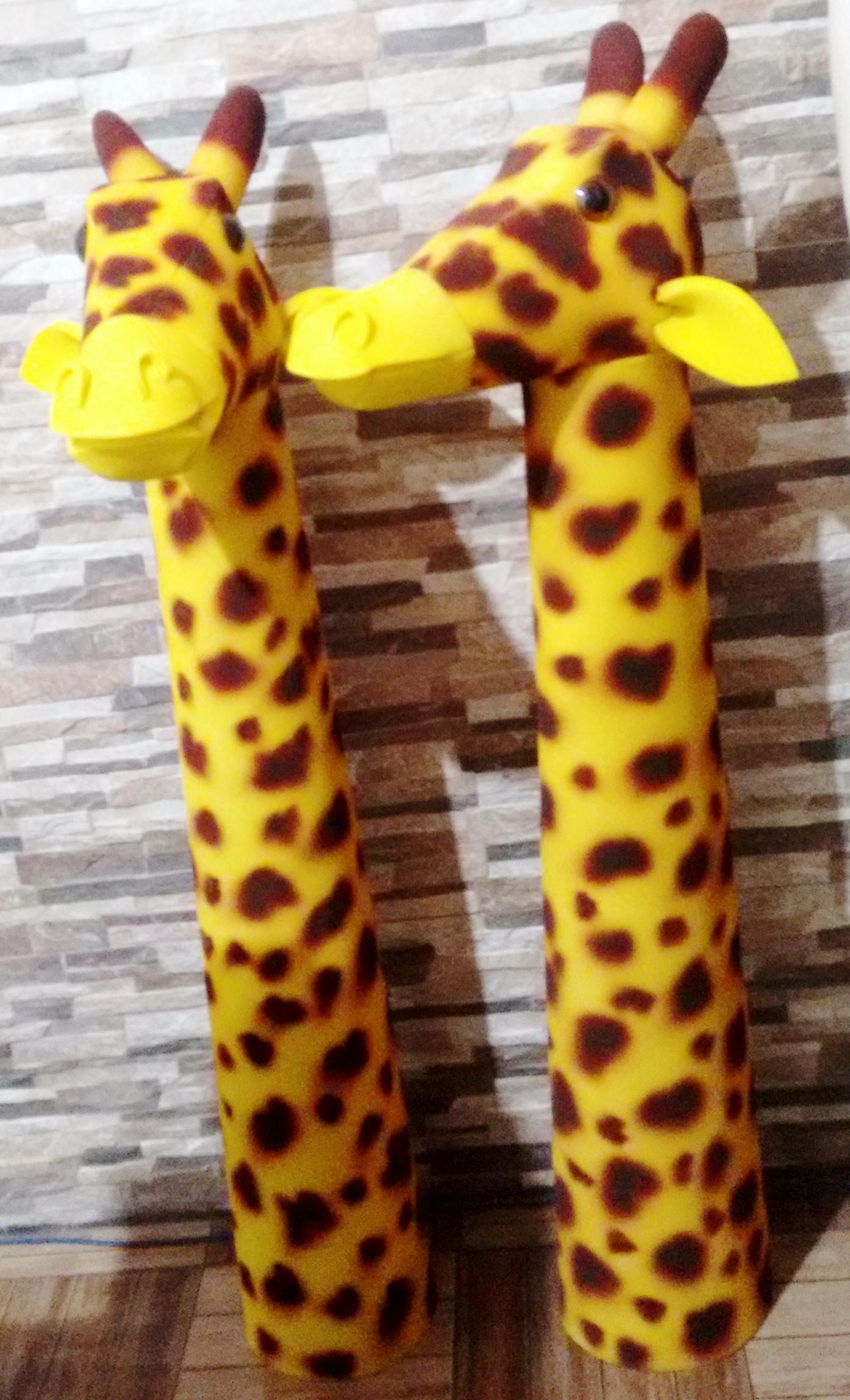 Girafa pescoço Chapéu em Espuma no Elo7  0e04b79005f