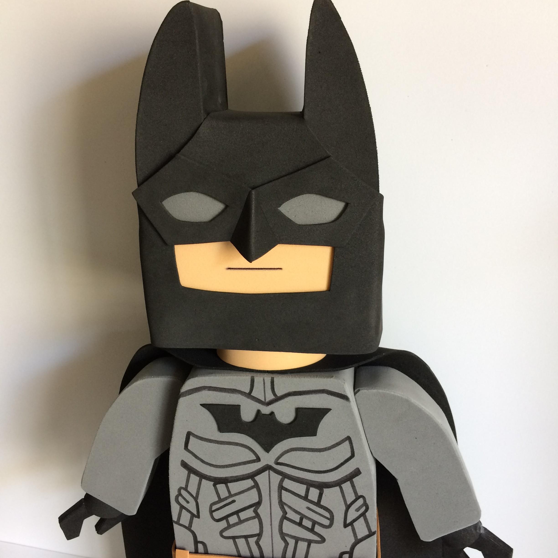 Boneco De Decoracao Em Eva Batman Lego No Elo7 Evart E Design