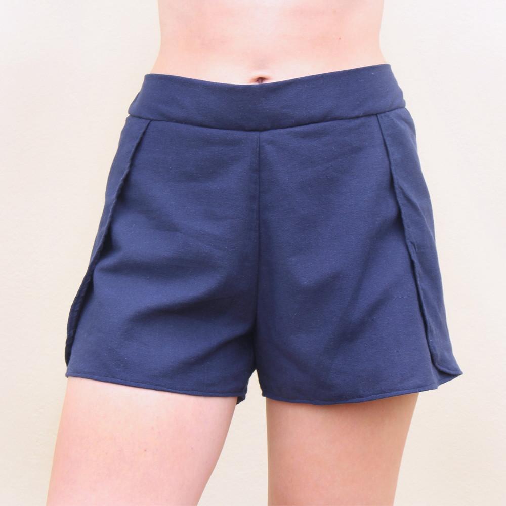 326a0c0aa Shorts Envelope Navy no Elo7