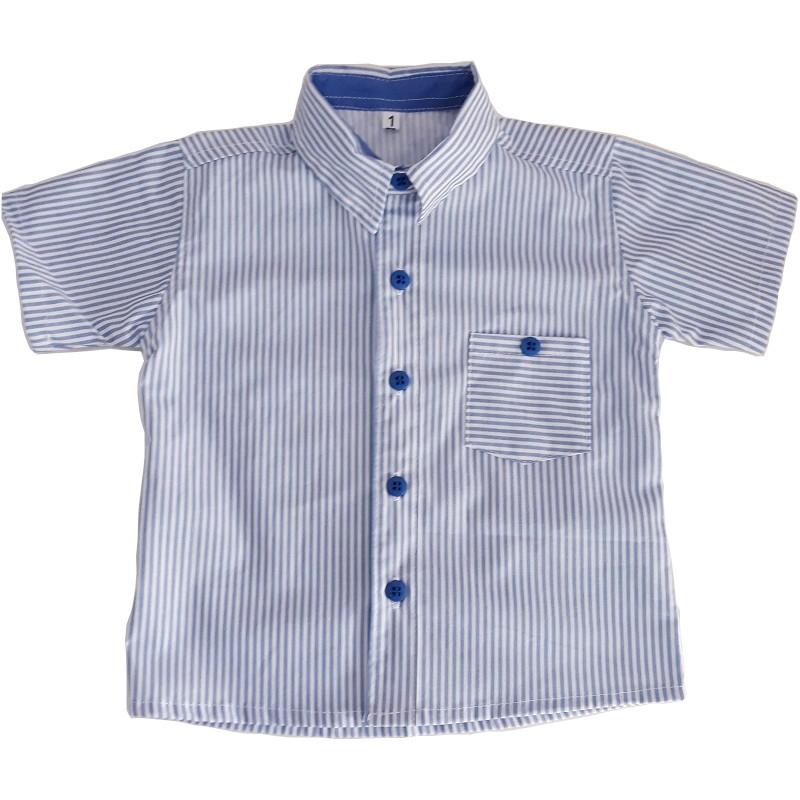 Camisa Marinheiro Listrada Azul  cb454e82409af