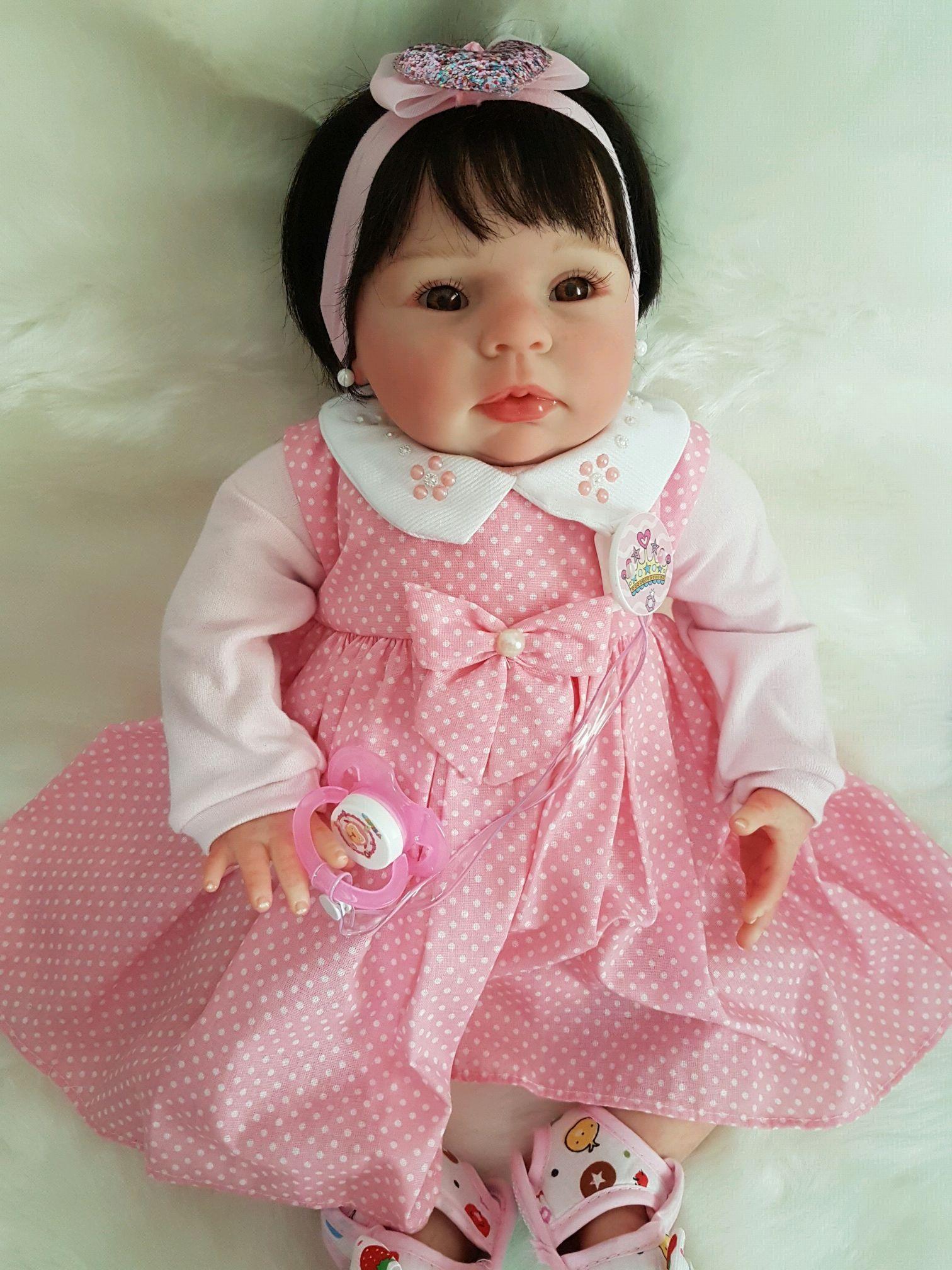 81ef20e67a Boneca Bebe Reborn Molde Greta Encomenda