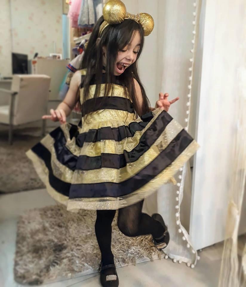 Vestido Queen Bee Lol Surprise No Elo7 Atelier Lauren Children D7a692