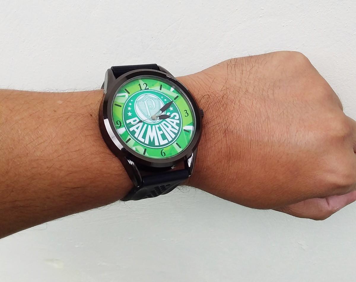9ccb81710ea 1 Relógio pulso personalizado esportivo Palmeíras barato no Elo7 ...