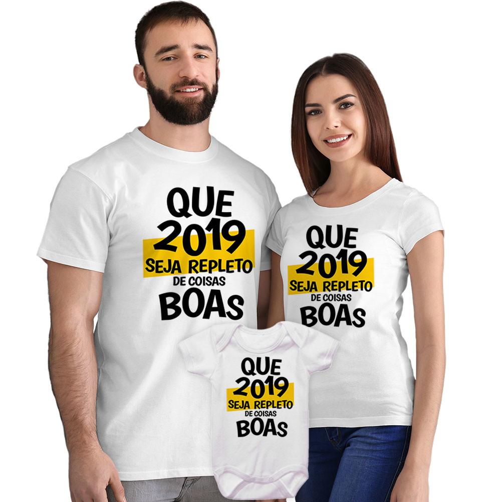 Camisetas E Body Frase Ano Novo Reveillon