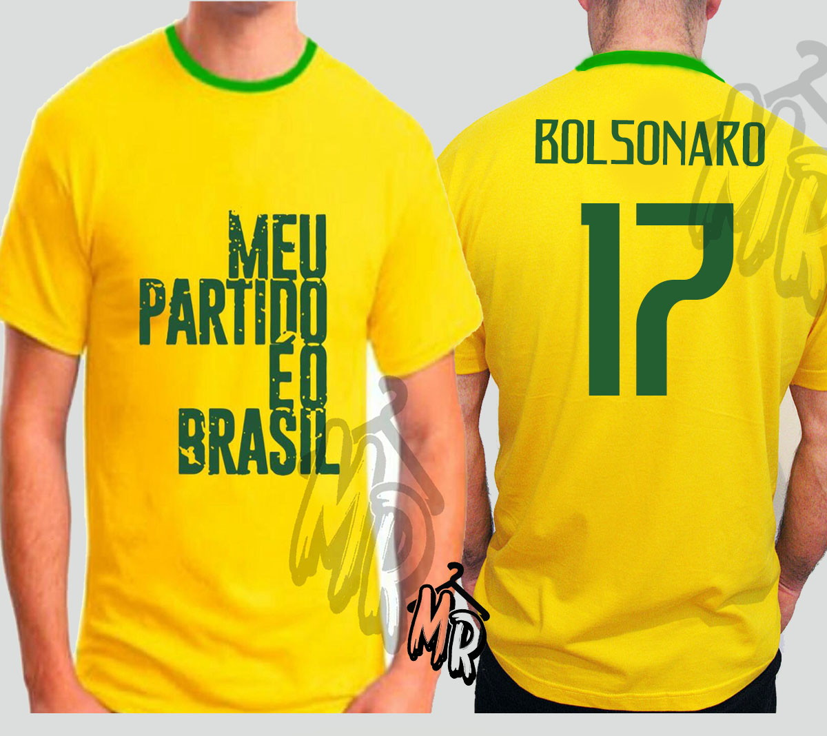 Camiseta Bolsonaro Presidente 2018 Meu Partido e o Brasil  8f0e1b182bf09