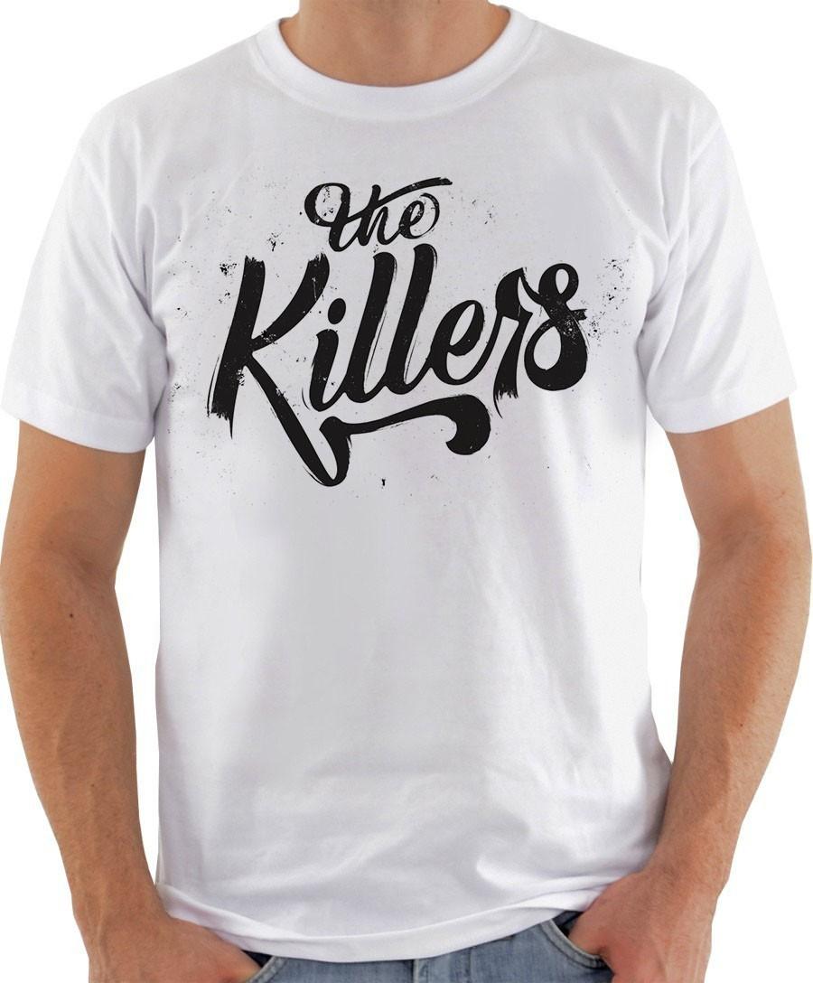 5bf1f3e57807d Camiseta Camisa The Killers Banda Rock Americana no Elo7