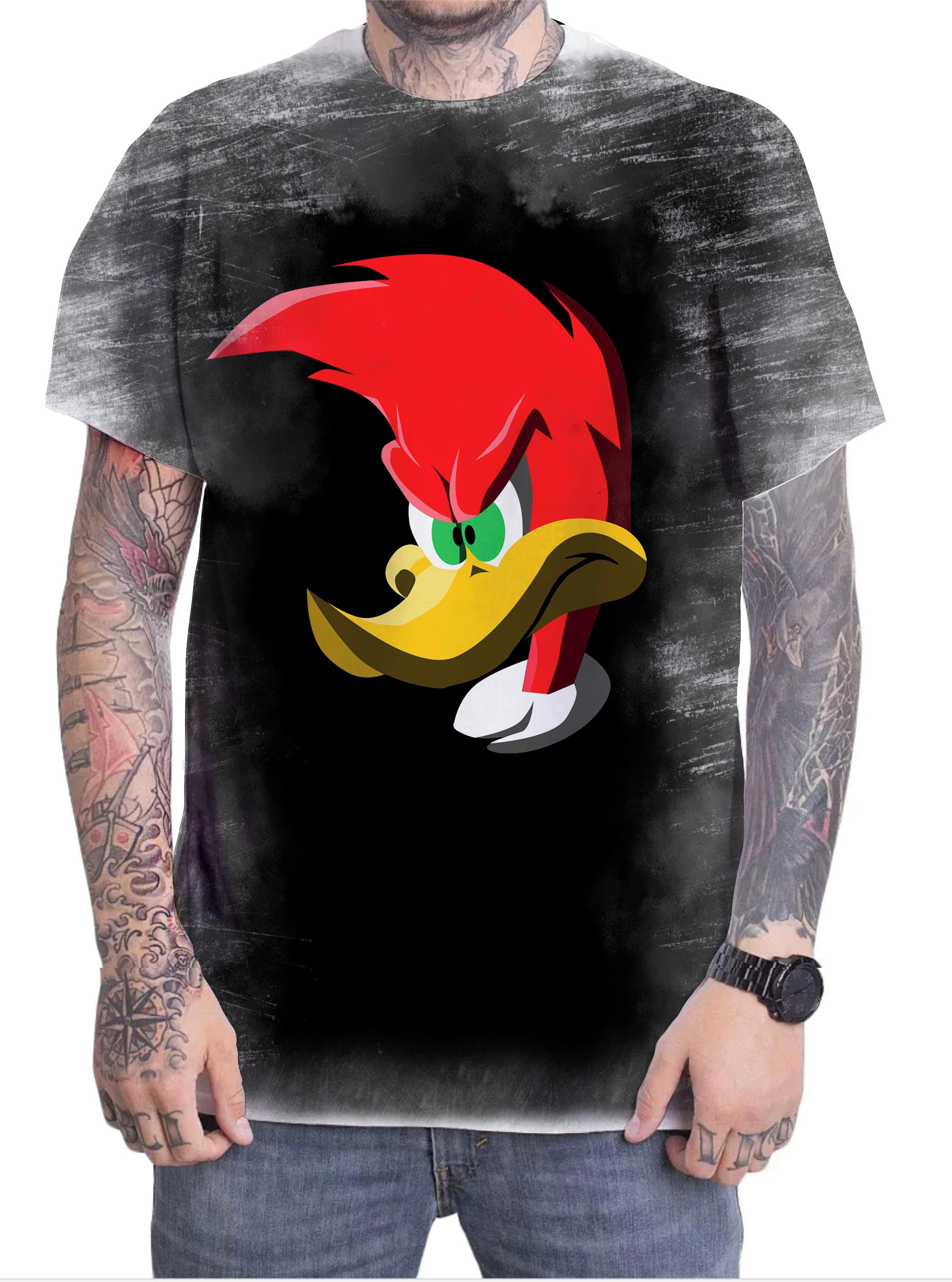 Camisa do Pica Pau Anime  1e31c9ecf30ef
