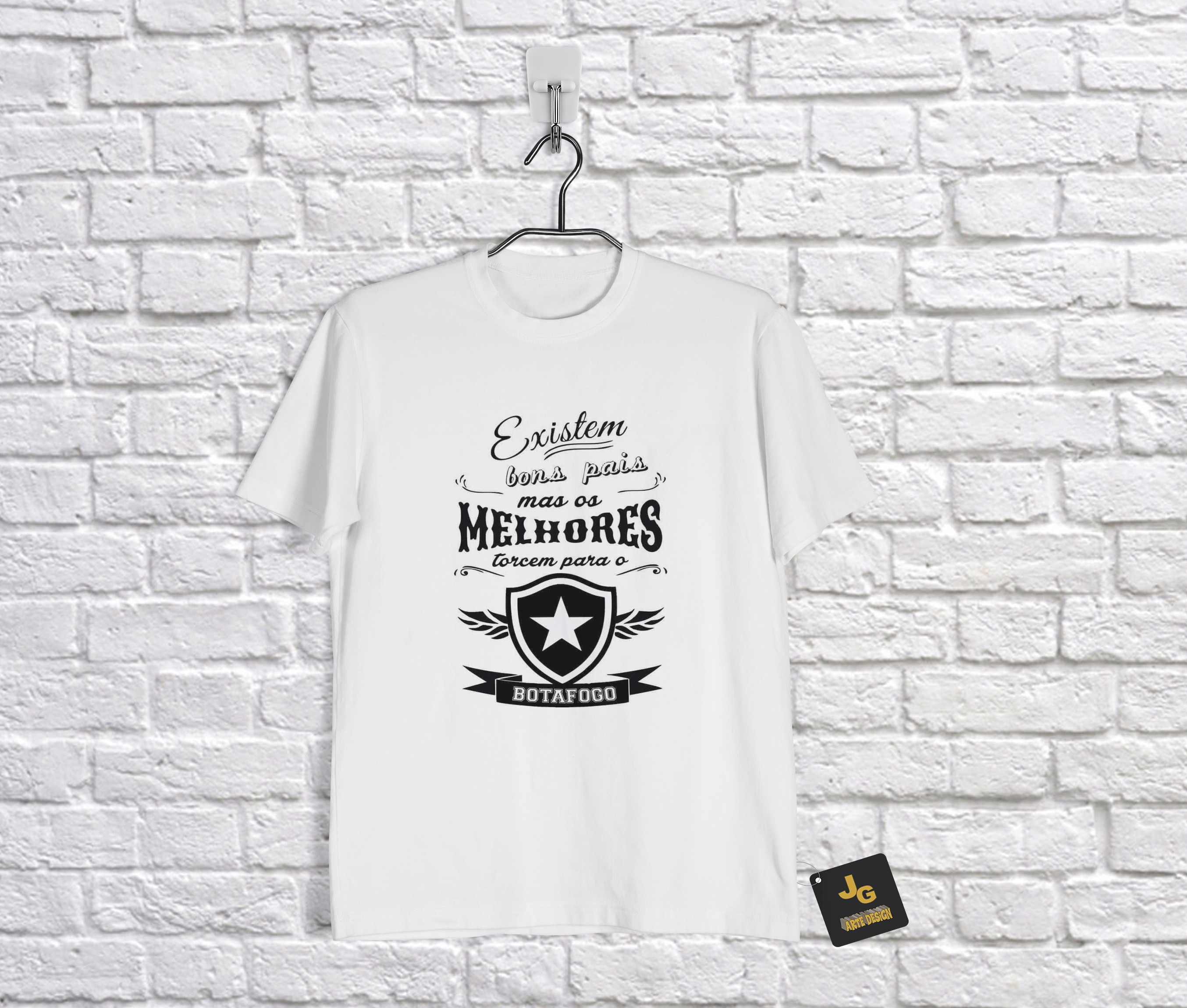 Camiseta Infantil Personalizada Time Botafogo  973984d8a564b