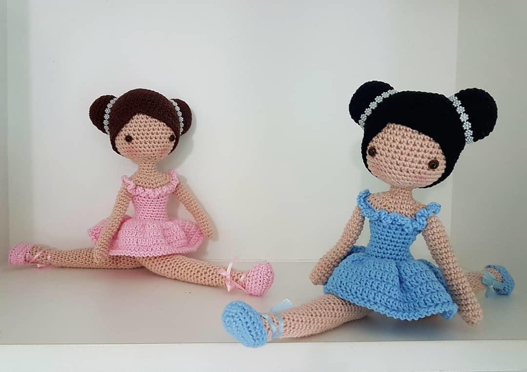 Boneca Amigurumi - Bailarina Bella Brinquedo Para Bebê - R$ 120,00 ... | 762x1080